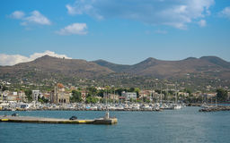 Greek island of Aegina Stock Image