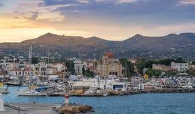 Greek island of Aegina Royalty Free Stock Photography