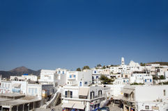 Greek Island architecture Adamas Milos Royalty Free Stock Image