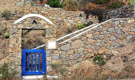Greek island architecture Stock Image