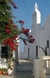 Greek island church. Church in the greek islands Stock Photo