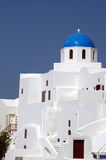 Greek island church Royalty Free Stock Photography