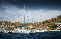 Greek island Stock Photography