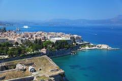 The Greek island of Corfu Stock Photo