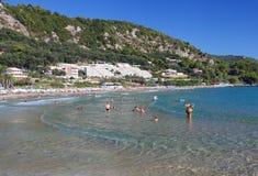The Greek island of Corfu Royalty Free Stock Photography