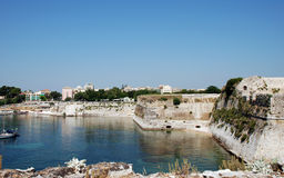 Greek Island of Corfu, city Kerkyra, Greece Royalty Free Stock Photos