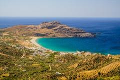 Greek island - Crete Landscape Royalty Free Stock Photo