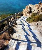 Greek Island Crete - Vai Beach royalty free stock photography