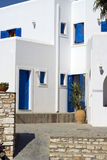 greek island guest house Stock Photo