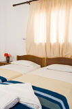 Greek Island guest room interior Ios Stock Photos