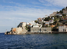 Greek island Hydra Royalty Free Stock Images