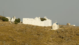 Greek Island Monastery Royalty Free Stock Photo