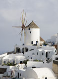 Greek island mykonos. Is popular tourist destination for cruises Royalty Free Stock Photo