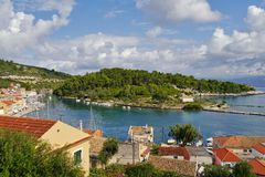 Greek island of Paxos Stock Image