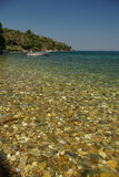 Greek island Samos, Platanaki beach Stock Image