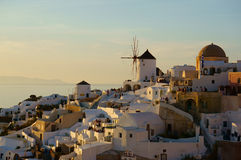 Greek island of Santorini Royalty Free Stock Images