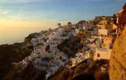Greek island of Santorini Stock Image