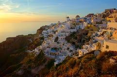 Greek island of Santorini Stock Images