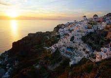 Greek island of Santorini Royalty Free Stock Image