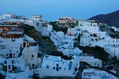 Greek island of Santorini Stock Photo