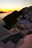 Greek island of Santorini Stock Photography