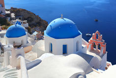 The Greek Island of Santorini Royalty Free Stock Photo