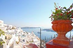 SANTORINI IN GREECE Stock Photos