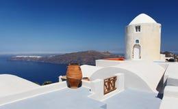 The Greek Island of Santorini Royalty Free Stock Photo