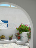 Greek island scene Stock Photos