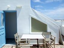 Greek island scene Stock Photos