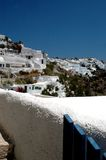 Greek island scene Royalty Free Stock Photos