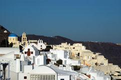 Greek island village Royalty Free Stock Photography