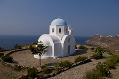 Greek islands buildings Stock Images