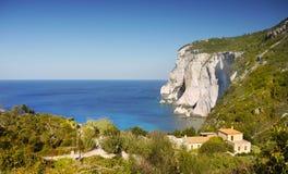 Greek Islands Coast Stock Photography