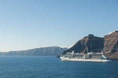 Greek islands cruises Stock Images