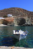 Greek islands Folegandros Stock Images