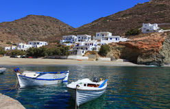 Greek islands Folegandros Stock Photography