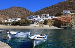 Greek islands Folegandros Stock Photography