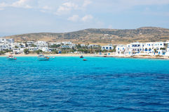 Greek islands, koufonissos harbour Stock Image