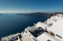 Greek Islands. Luxury, romantic holiday destination,  Santorini, Greek Islands Royalty Free Stock Photo
