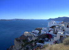 Greek islands scenic view Royalty Free Stock Photo