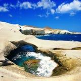 Greek islands series - Milos Stock Image