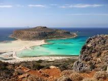 Greek Islands, Summer Holidays Crete. Stunning coast and beaches on Greek Island - Crete. Greece Summer Holidays. Europe stock images