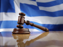 Greek Justice Royalty Free Stock Photography