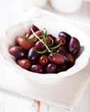 Greek Kalamata Olives royalty free stock images