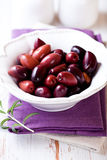 Greek Kalamata Olives Stock Images