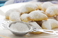 Greek Kourabiedes Royalty Free Stock Image
