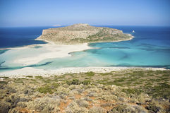 Greek lagoon Royalty Free Stock Images
