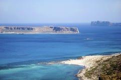 Greek lagoon Royalty Free Stock Photo