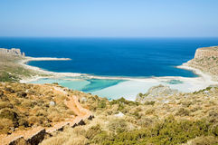 Greek lagoon Stock Photo